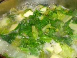 Zucchini, herbs and lemon soup Ronit Penso