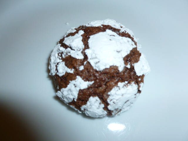 Chocolate Crackles Cookies Ronit Penso