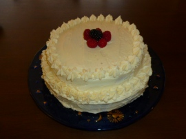 Sponge Cake with Maple-Rum Butter Cream Ronit Penso