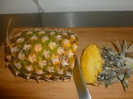 How to peel and cut a fresh pineapple Ronit Penso