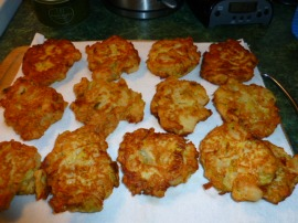 Leek and Potato Patties Ronit Penso