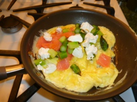 scrambled eggs with asparagus Ronit Penso