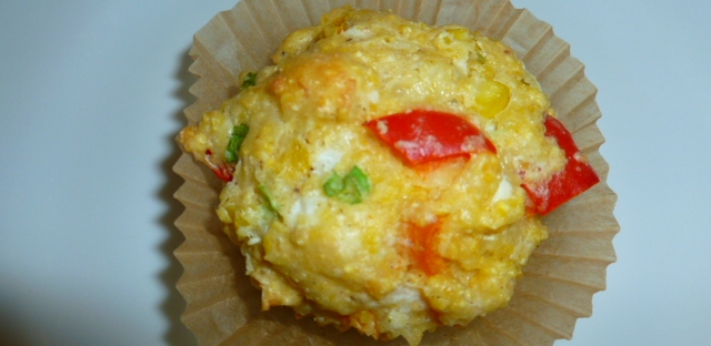 Corn, Red Pepper and Cheese Muffins Ronit Penso