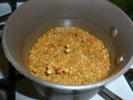 Couscous lentil and raisins salad Ronit Penso