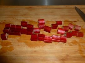 Upside-down Rhubarb Cake Ronit Penso