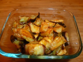 spicy eggplant salad Ronit Penso