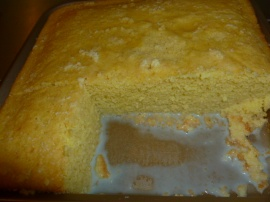 Semolina cake with milk and maple syrup Ronit Penso Tasty Eats