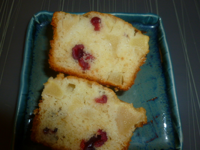 Apple-Cranberry Cupcakes with Cranberry Icing Ronit Penso