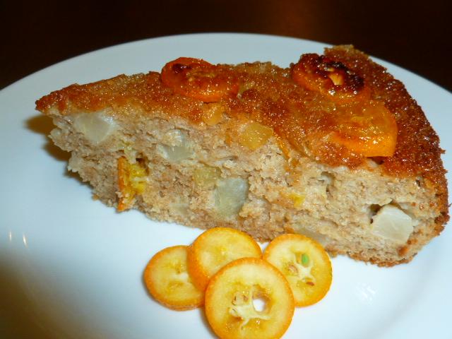 Pear Kumquat cake Ronit Penso