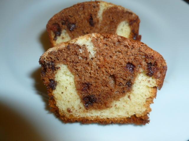 Vanilla-Chocolate Marble Cupcakes Ronit Penso
