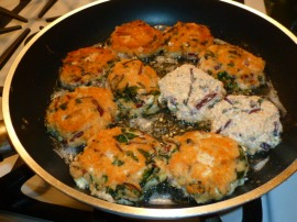 Savory Beet greens cheese patties Ronit Penso