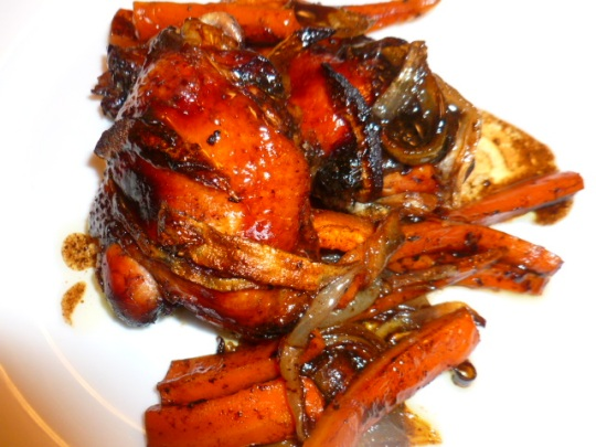 Balsamic vinegar Date syrup Roasted Chicken Ronit Penso