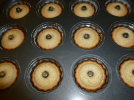 Cardamom Friands with Lemon Curd Ronit Penso