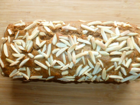 Almond, Coffee, Banana and Dates Breakfast Bread Ronit Penso
