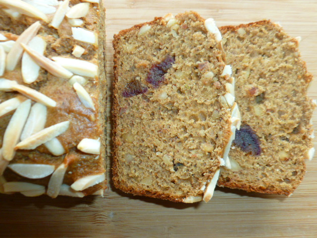 Banana, Almond, Coffee and Date Breakfast Bread Ronit Penso