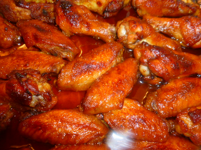 Sweet and Spicy Oven Roasted Chicken Wings – Tasty Eats