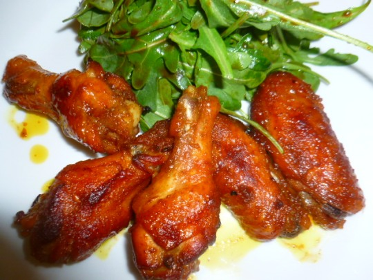 Sweet and Spicy Oven Roasted Chicken Wings Ronit Penso