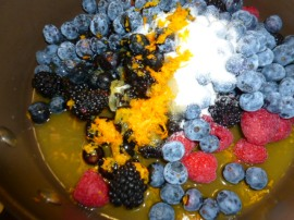 Berries and Orange Coulis and Popsicles Ronit Penso