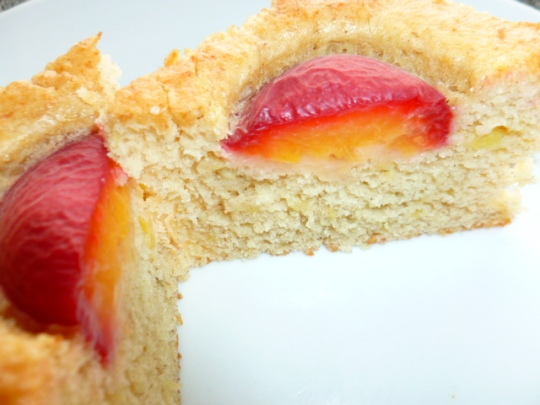 Banana Cake with Purple Apricots Ronit Penso