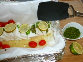 Baked/Steamed Chilean Sea Bass Ronit Penso