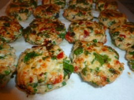 Colorful Chicken Patties Ronit Penso