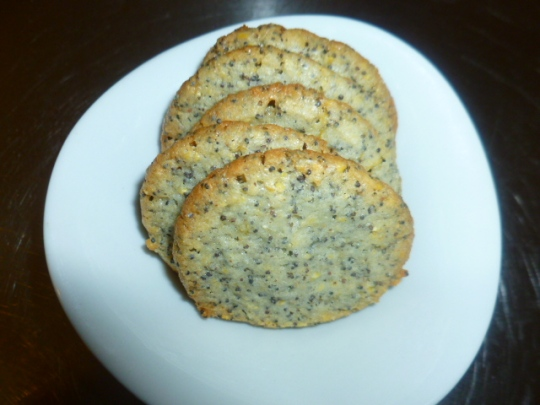 Lemon, Poppy Seeds and Cornmeal Cookies Ronit Penso
