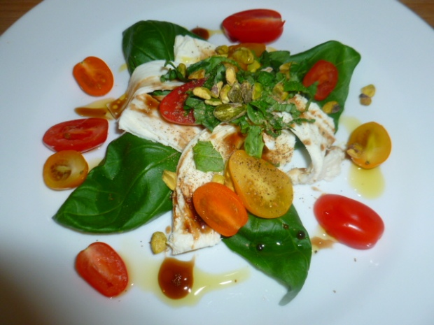 Colorful variation on Caprese Salad Ronit Penso