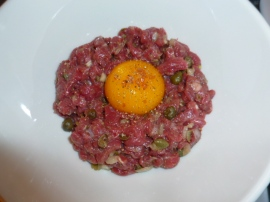 American Buffalo (Bison) Steak Tartare Ronit Penso