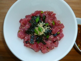 Tuna Tartare with Asian Vinaigrette Ronit Penso