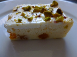 Yogurt, Dried Apricots and Pistachios Squares Ronit Penso