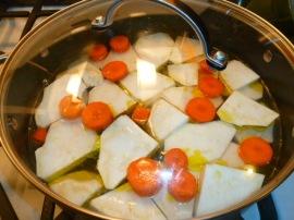 Sweet and Sour Celeriac Sephardic Style Ronit Penso