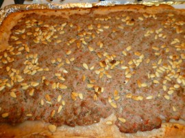 Armenian Meat Pie (Lahmajoon) with Quick Yogurt-Spelt Dough Ronit Penso