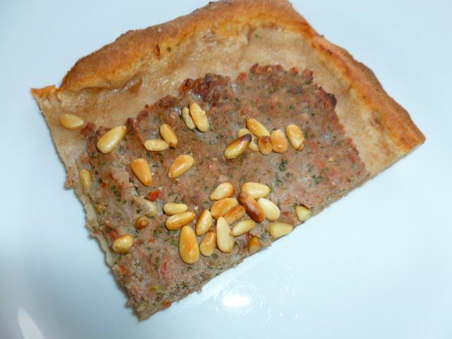 Armenian Meat Pie (Lahmajoon) with Quick Yogurt-Spelt Dough Ronit Penso