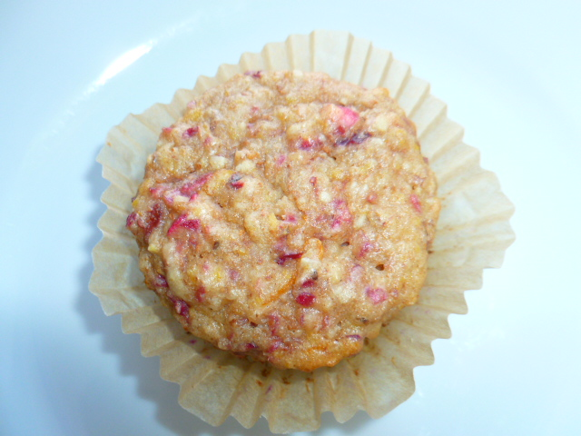 Cranberry, Orange, Almond and Banana Breakfast Muffins Ronit Penso