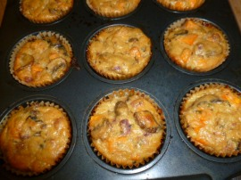 Mushrooms and Sweet Potato Mini-Bakes Ronit Penso