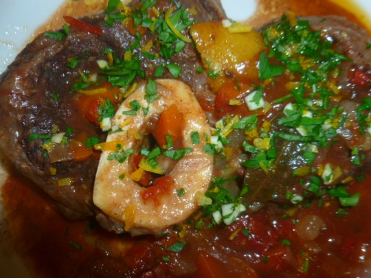 Ossobuco with Red Wine and Citrus Gremolata Ronit Penso