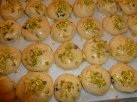 Lemon, Cherries and Pistachios Cookies Ronit Penso