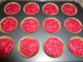 Nutty Beet, Orange and Apple Muffins Ronit Penso