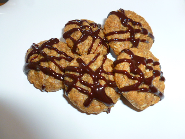 Flourless Coconut, Peanut Butter and Banana Cookies, Ronit Penso