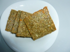 Pumpkin Seed and Parmesan Crackers Ronit Penso
