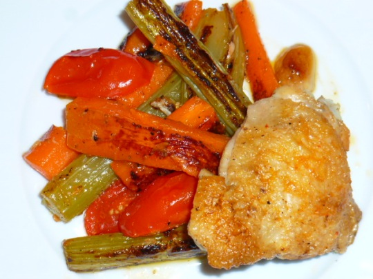 Pot roasted chicken Sephardic style Ronit Penso