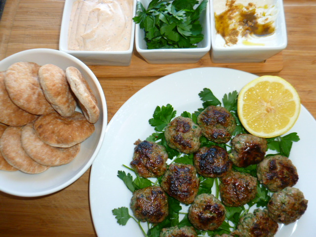 Lamb Sliders with Tahini-Yogurt Sauce Ronit Penso