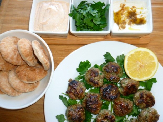 Lamb Sliders with Tahini-Yogurt Sauce Ronit Penso