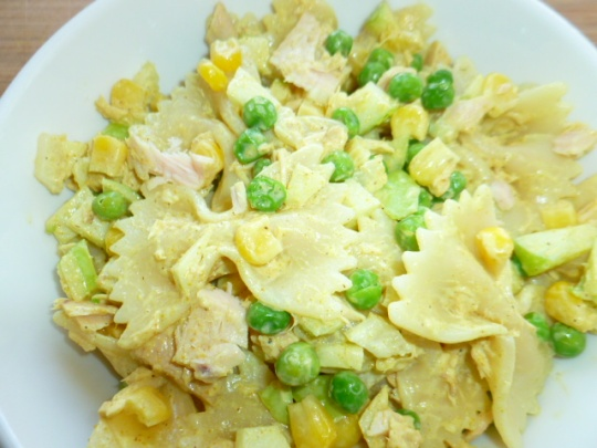 Curried Bow Tie Pasta Tuna Salad Ronit Penso