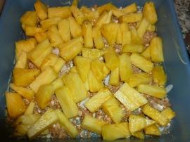 Pineapple, Plum, Hazelnut and Coconut Crisp Ronit Penso