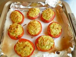 Feta and Scallions Stuffed Tomatoes Ronit Penso