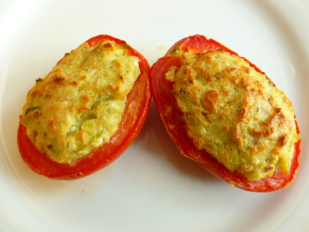 Feta and Scallions Stuffed Tomatoes Ronit Penso
