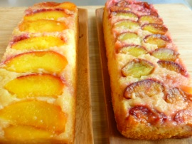 Lemon yogurt upside down cakes Ronit Penso