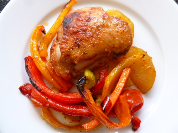 Roasted Chicken with Vegetables Ronit Penso