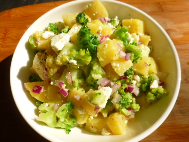 Yukon Gold Potato, Broccoli and Feta Cheese Salad Ronit Penso